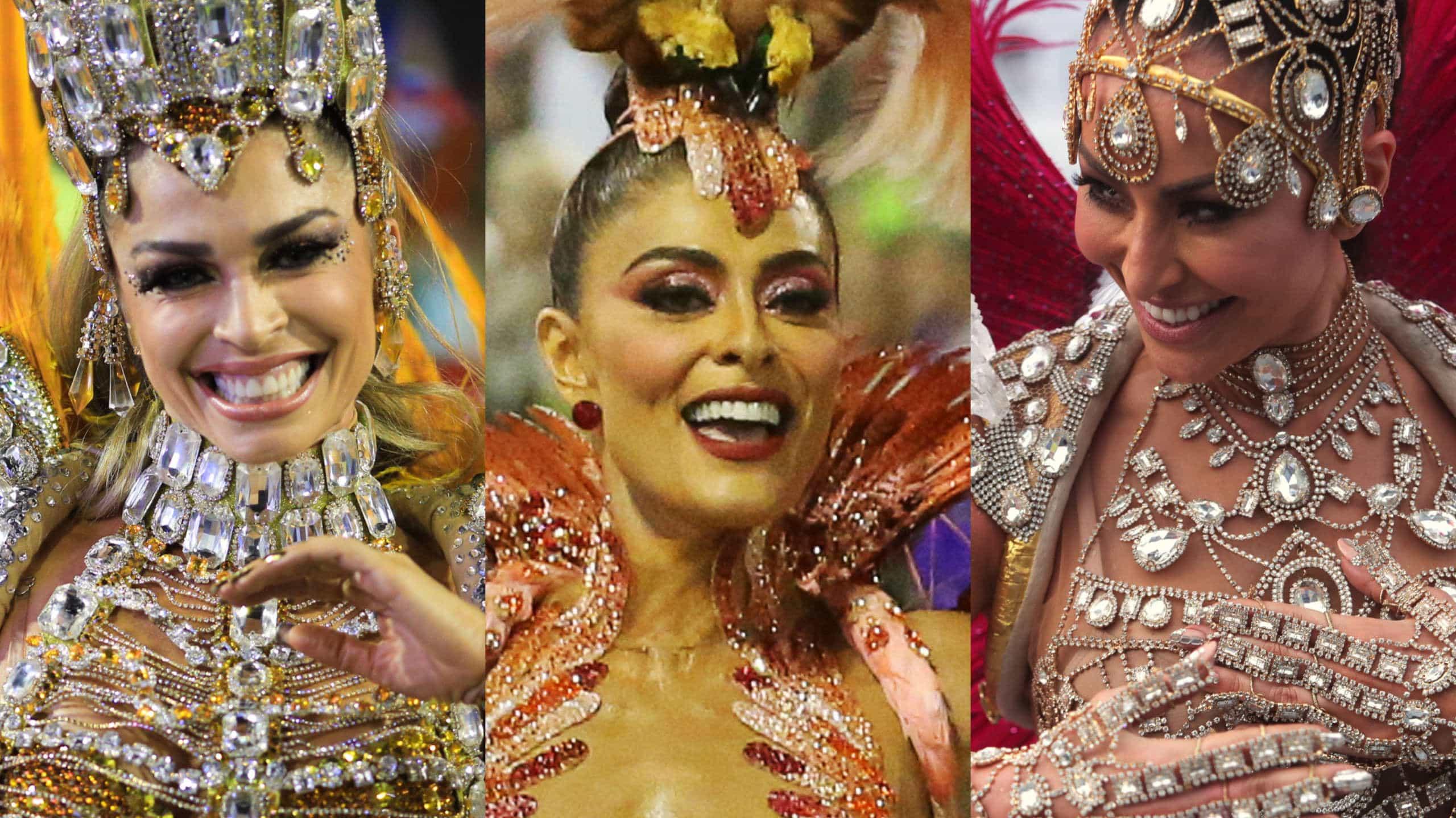 Musas do Carnaval: qual a mais famosa mais poderosa?