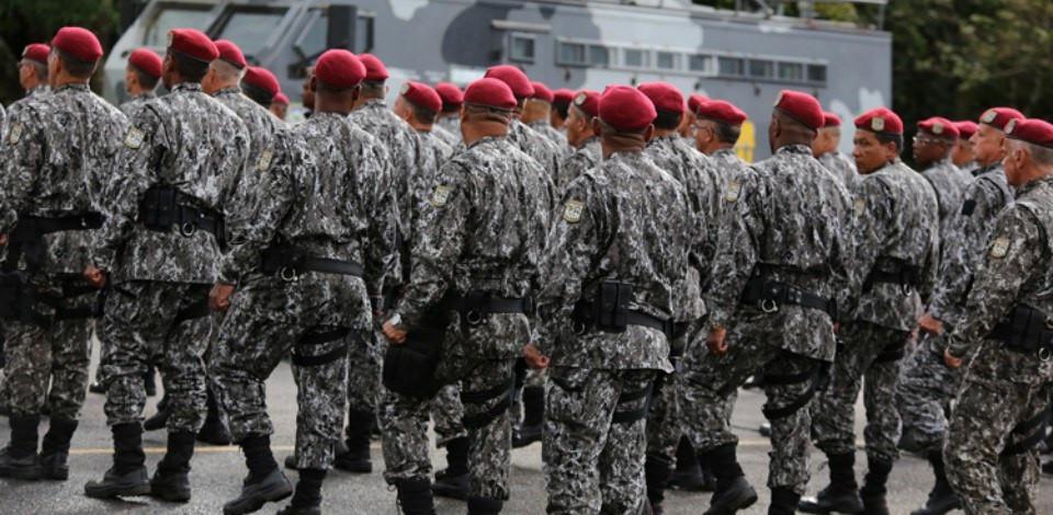 Força Nacional cerca prédio do MEC em véspera de protesto contra cortes