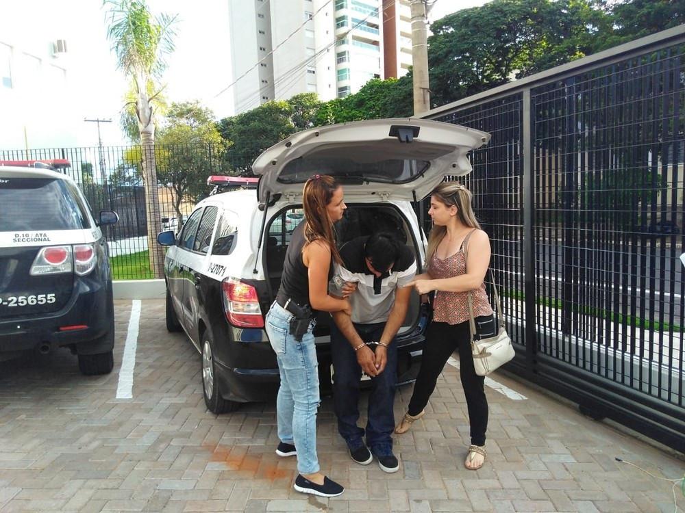 Preso homem que agrediu mulher e filha com marretadas em Araçatuba
