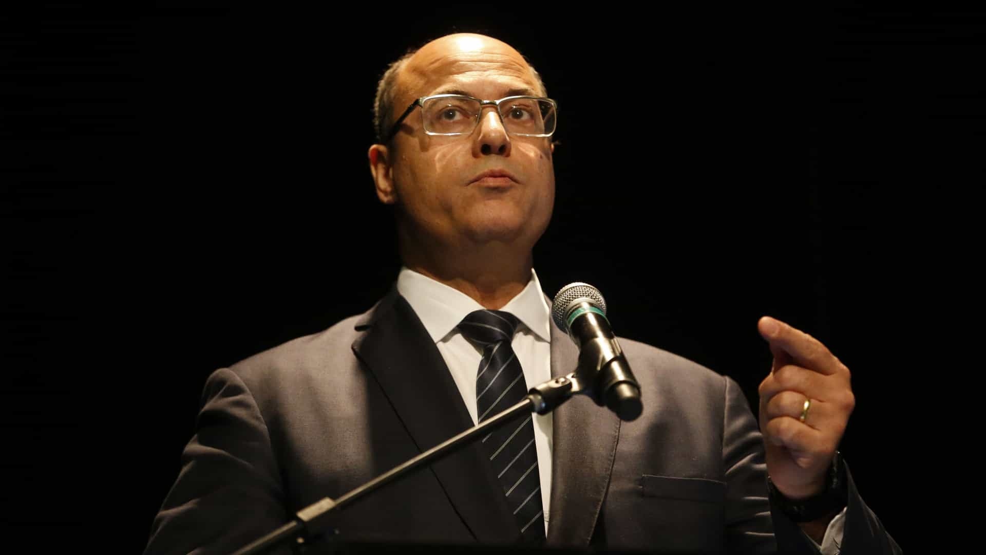 Witzel: 'Atiradores de elite já estão sendo usados contra traficantes'