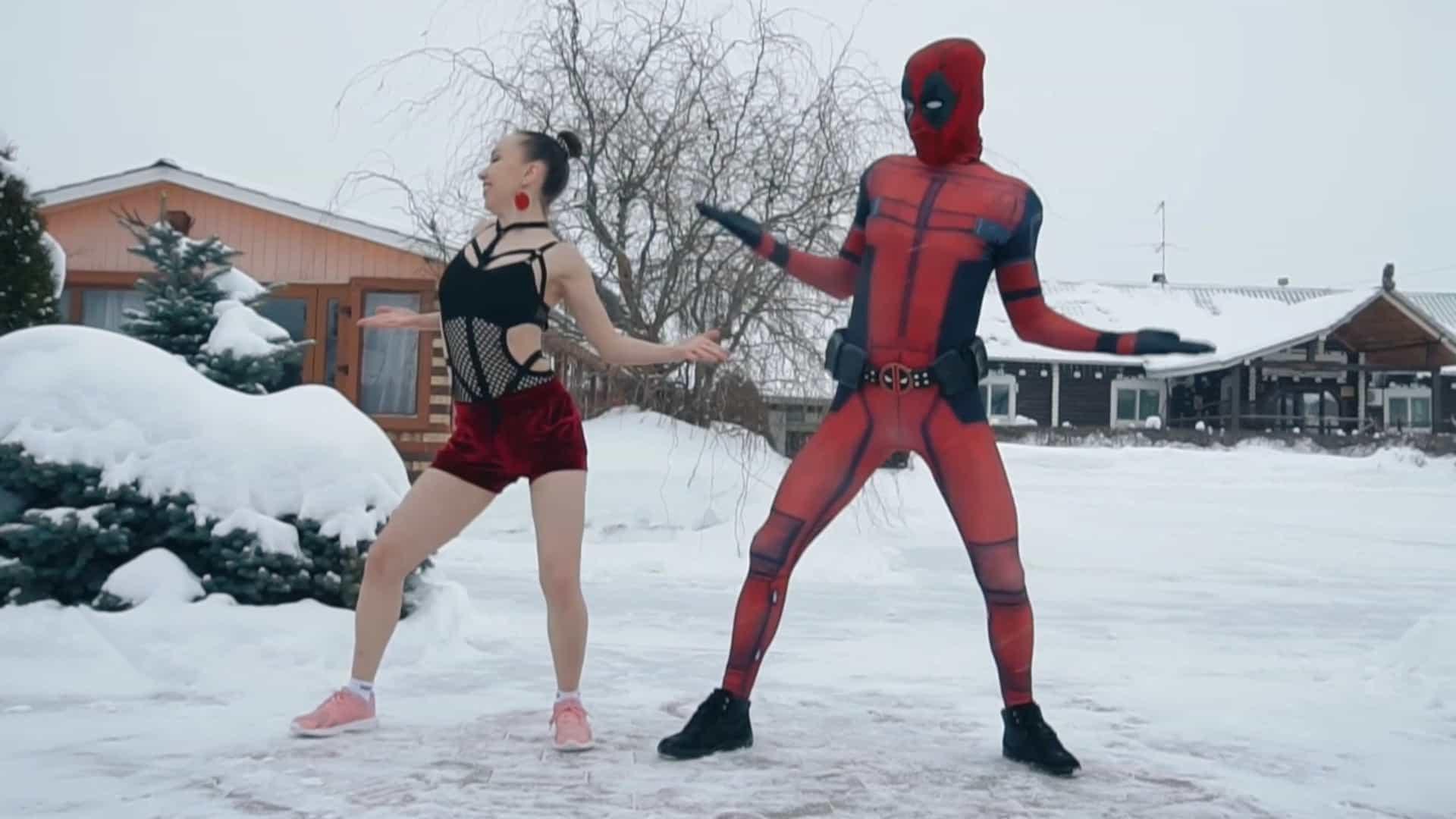 Você já viu o Deadpool russo dançando música brasileira?