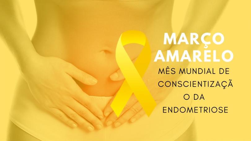 Março Amarelo marca mês de conscientização sobre a endometriose