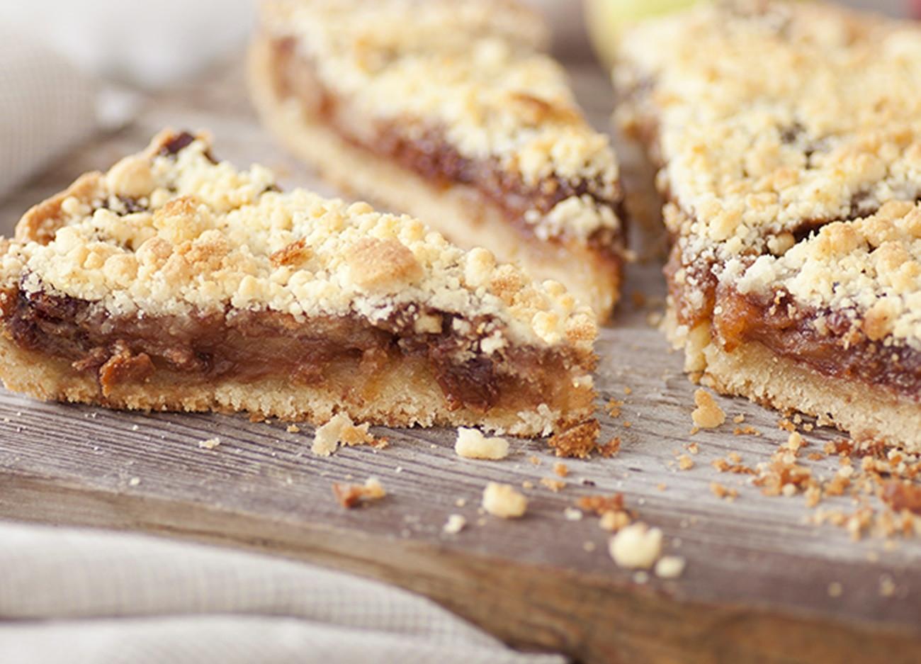 Torta de maçã é delícia feita com alimentos da safra; aprenda