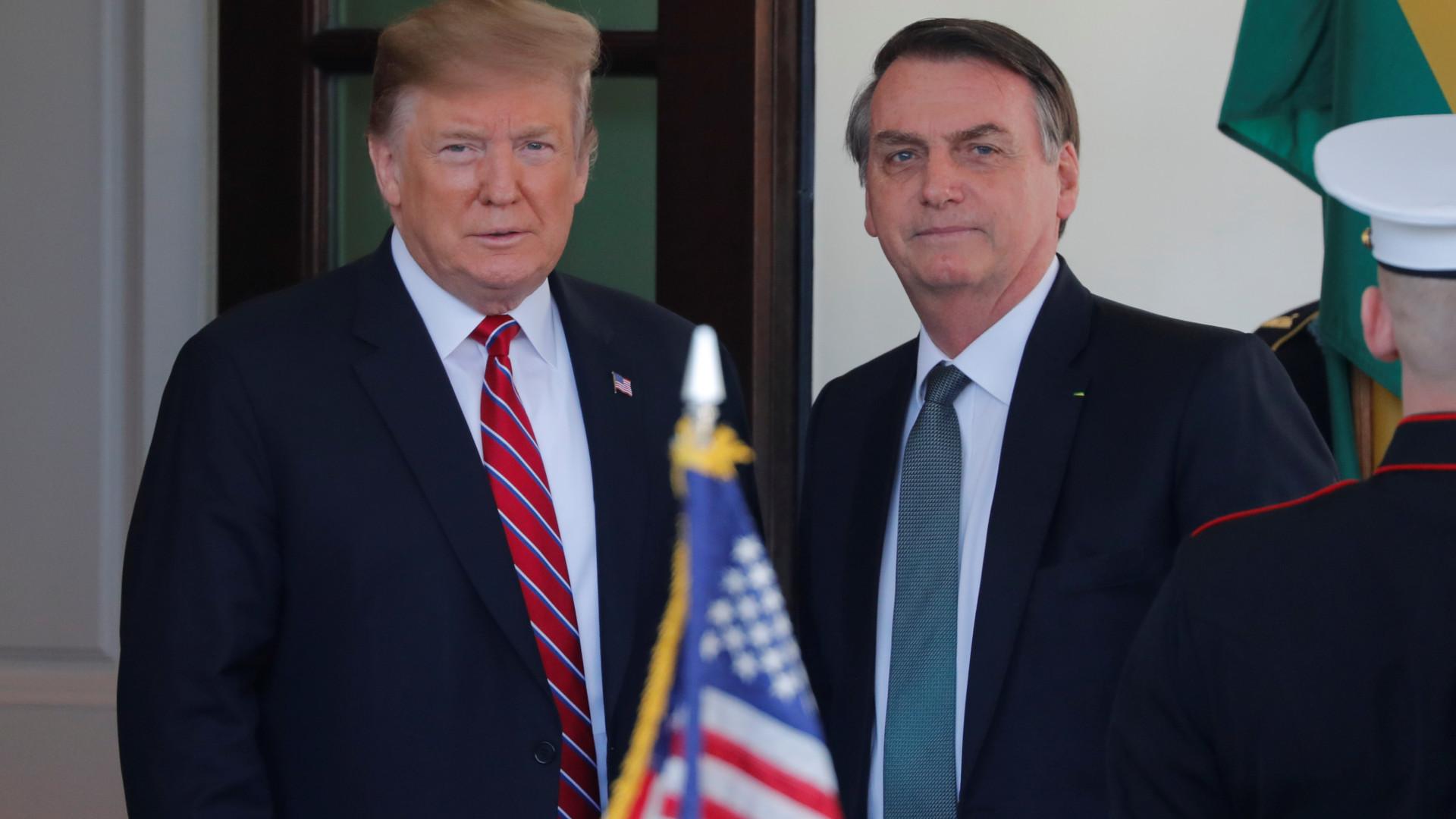 Trump apoia Brasil na OCDE e vai discutir ação militar na Venezuela