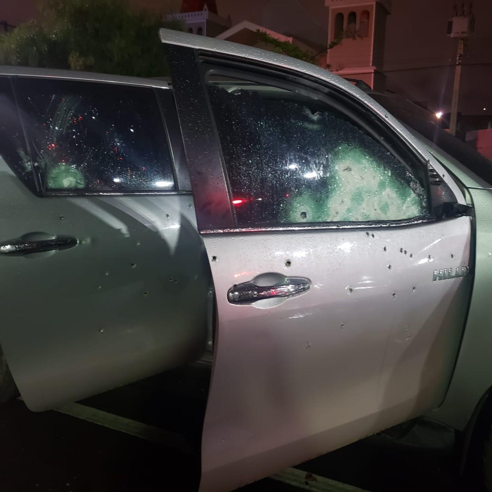 Motorista do tráfico sobrevive a nove tiros de fuzil em MS