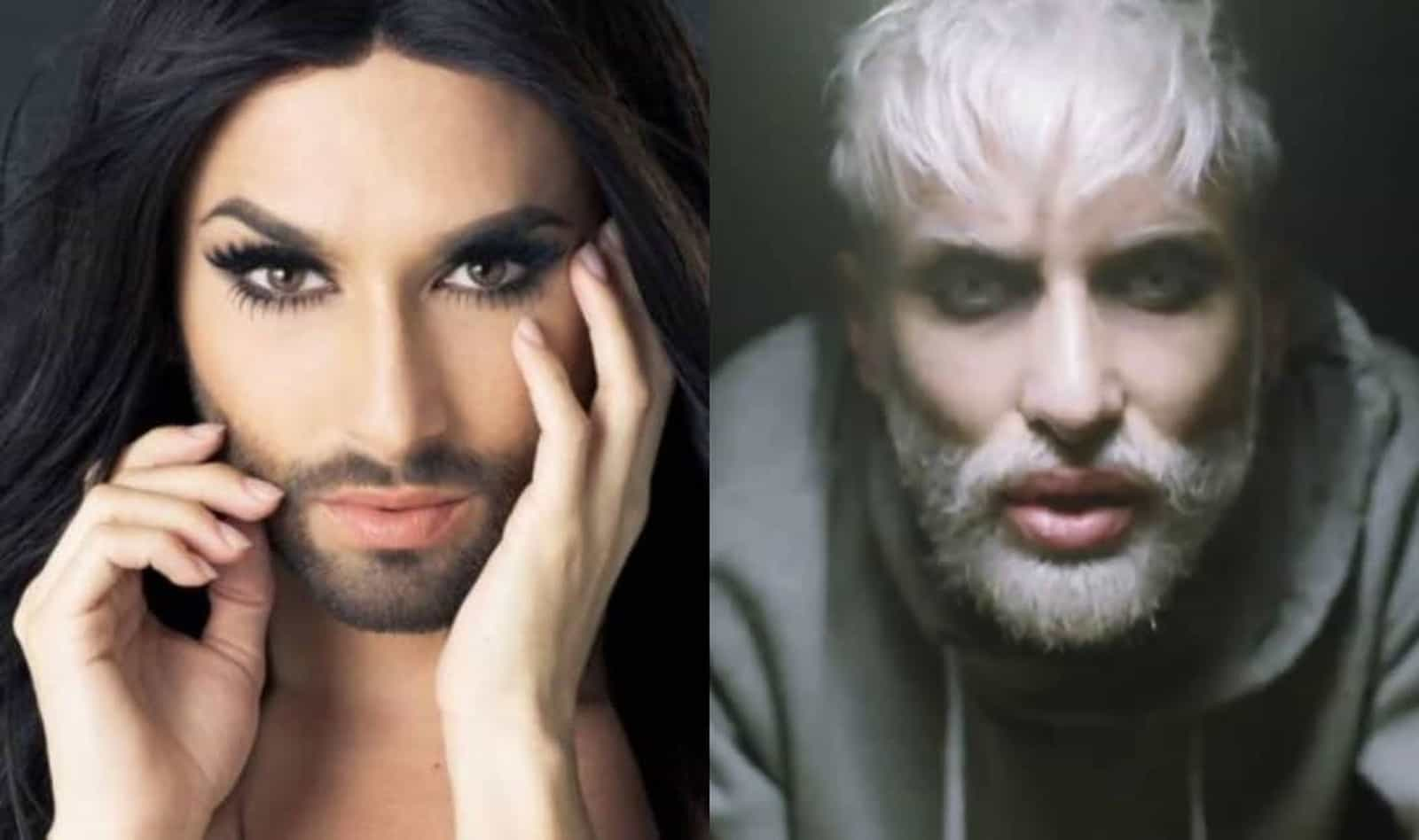 Conchita Wurst, cantora drag queen de barba, surpreende com novo visual