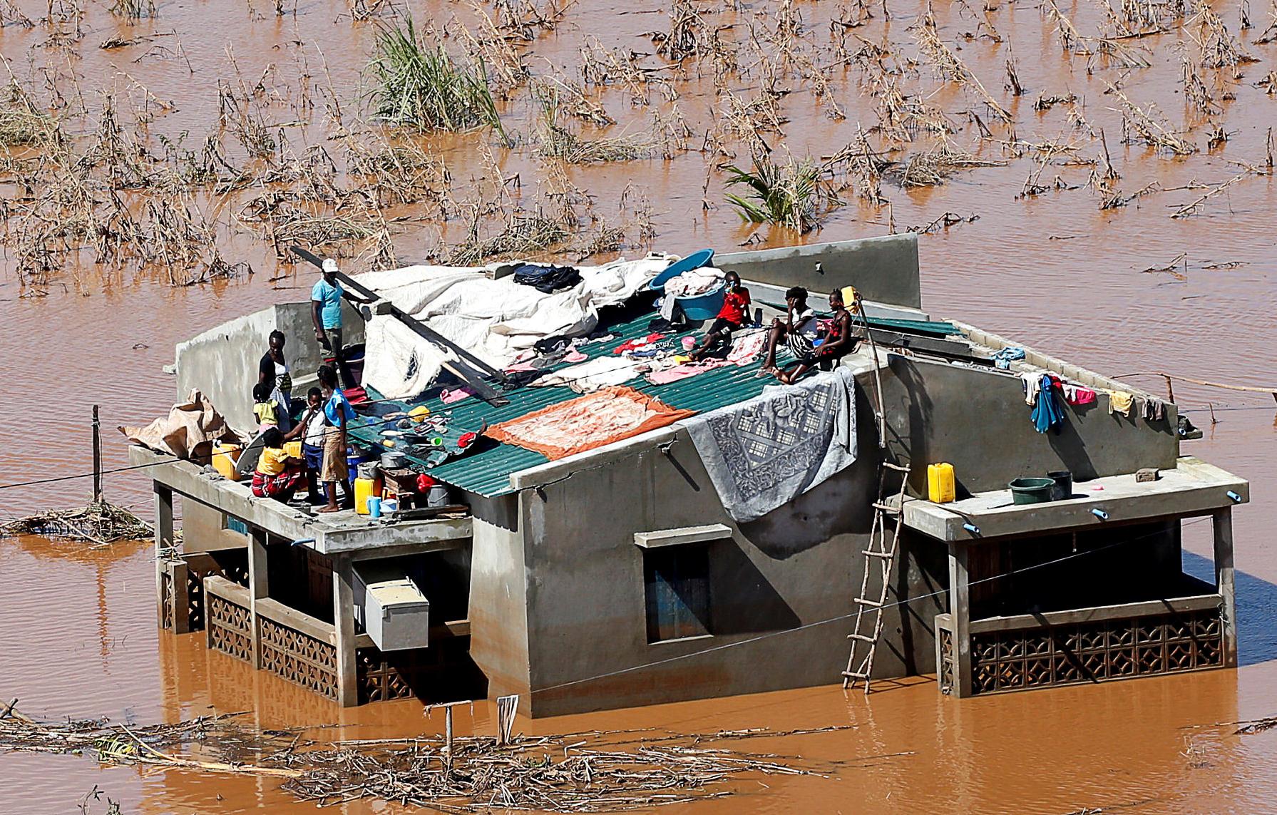 Número de mortos por ciclone Idai já passa de 550