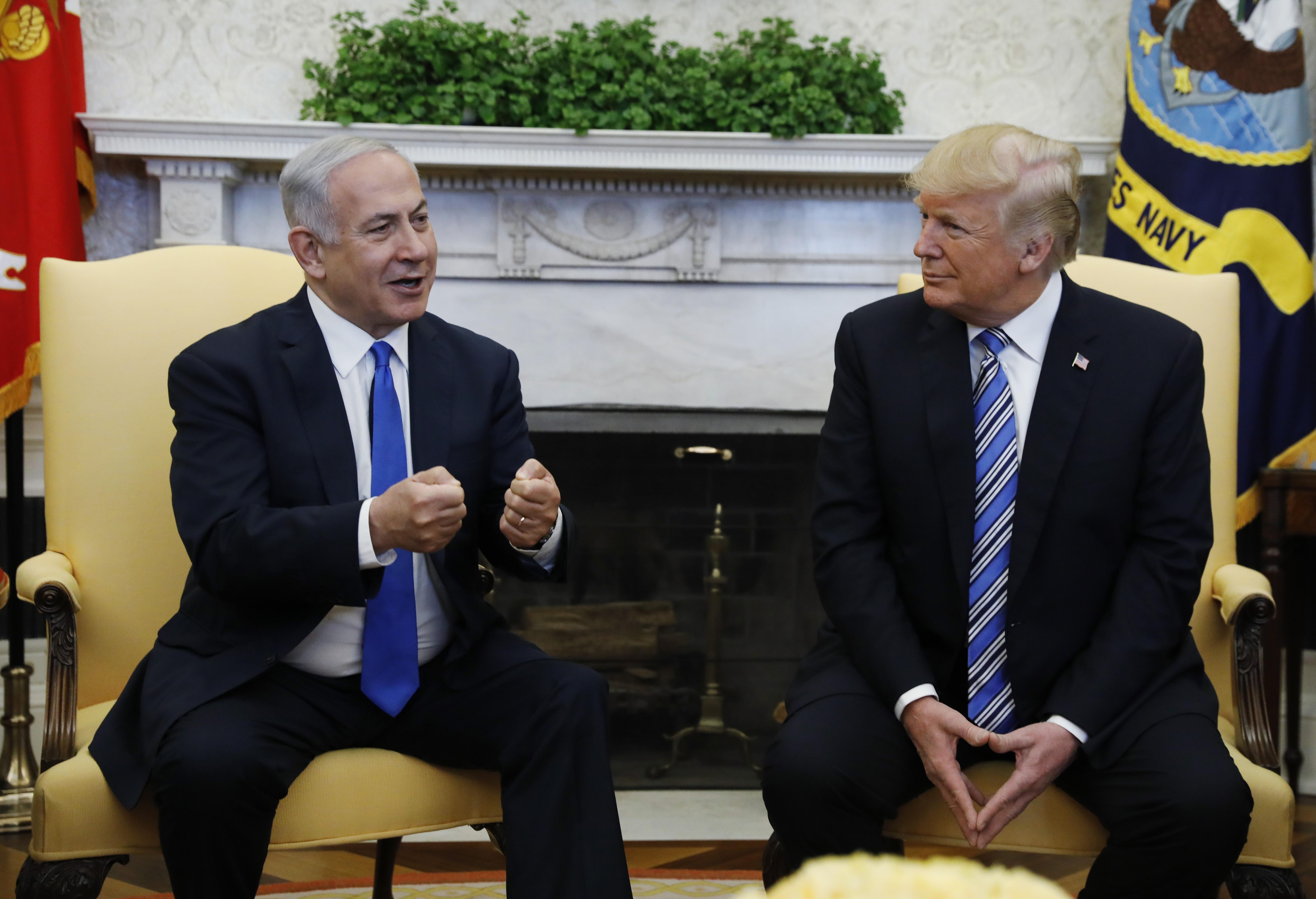 Trump defende que EUA reconheçam soberania de Israel sobre Golã