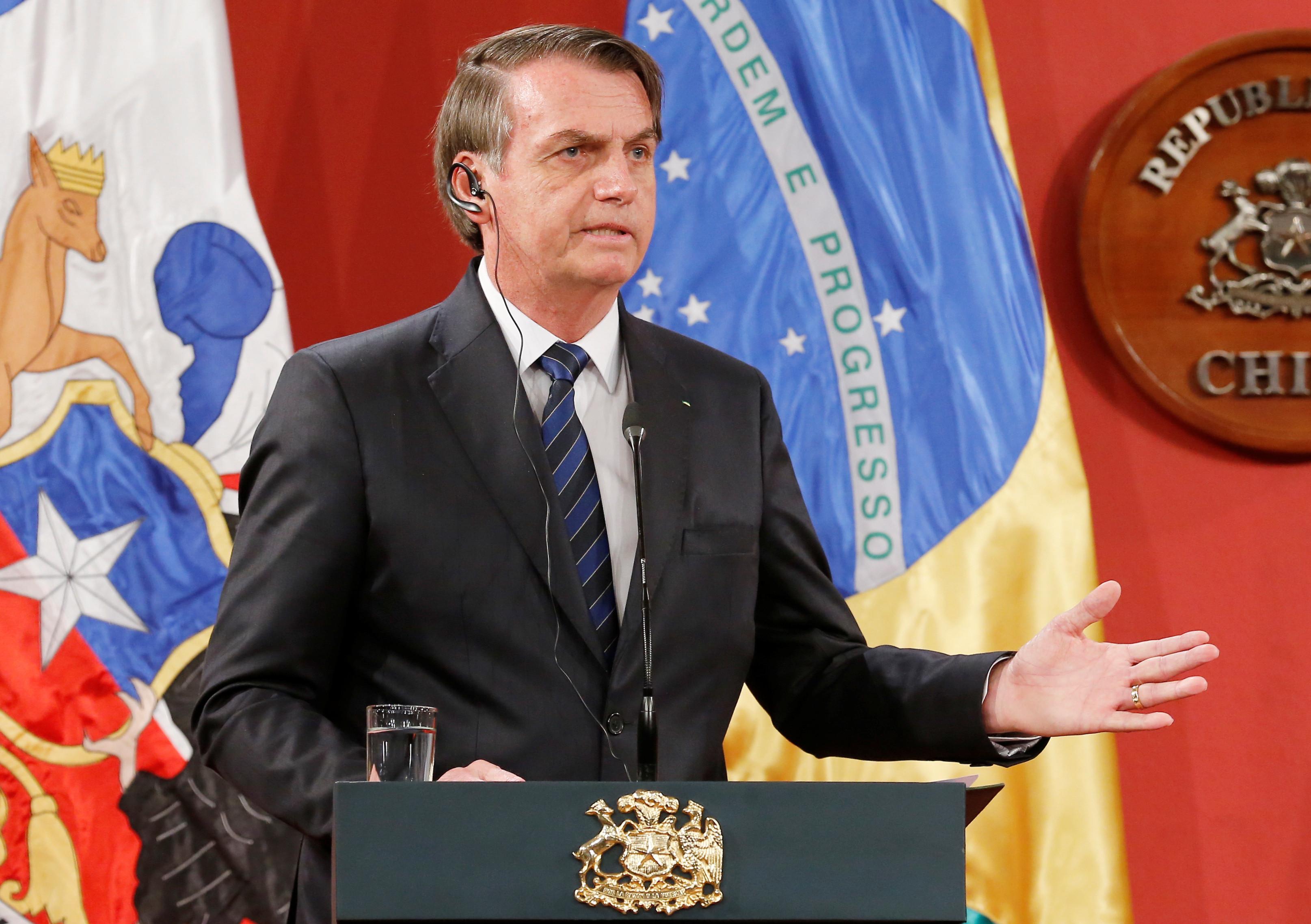 Bolsonaro diz que Brasil não deve nada em preservação do meio ambiente