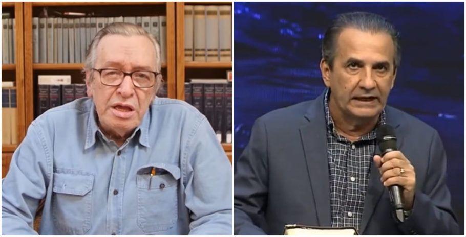 Redes sociais: 'astrólogo' Olavo e 'bispo' Malafaia estão em guerra