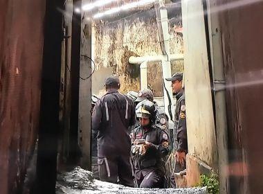 Prédio desaba em Salvador e sete pessoas ficam presas