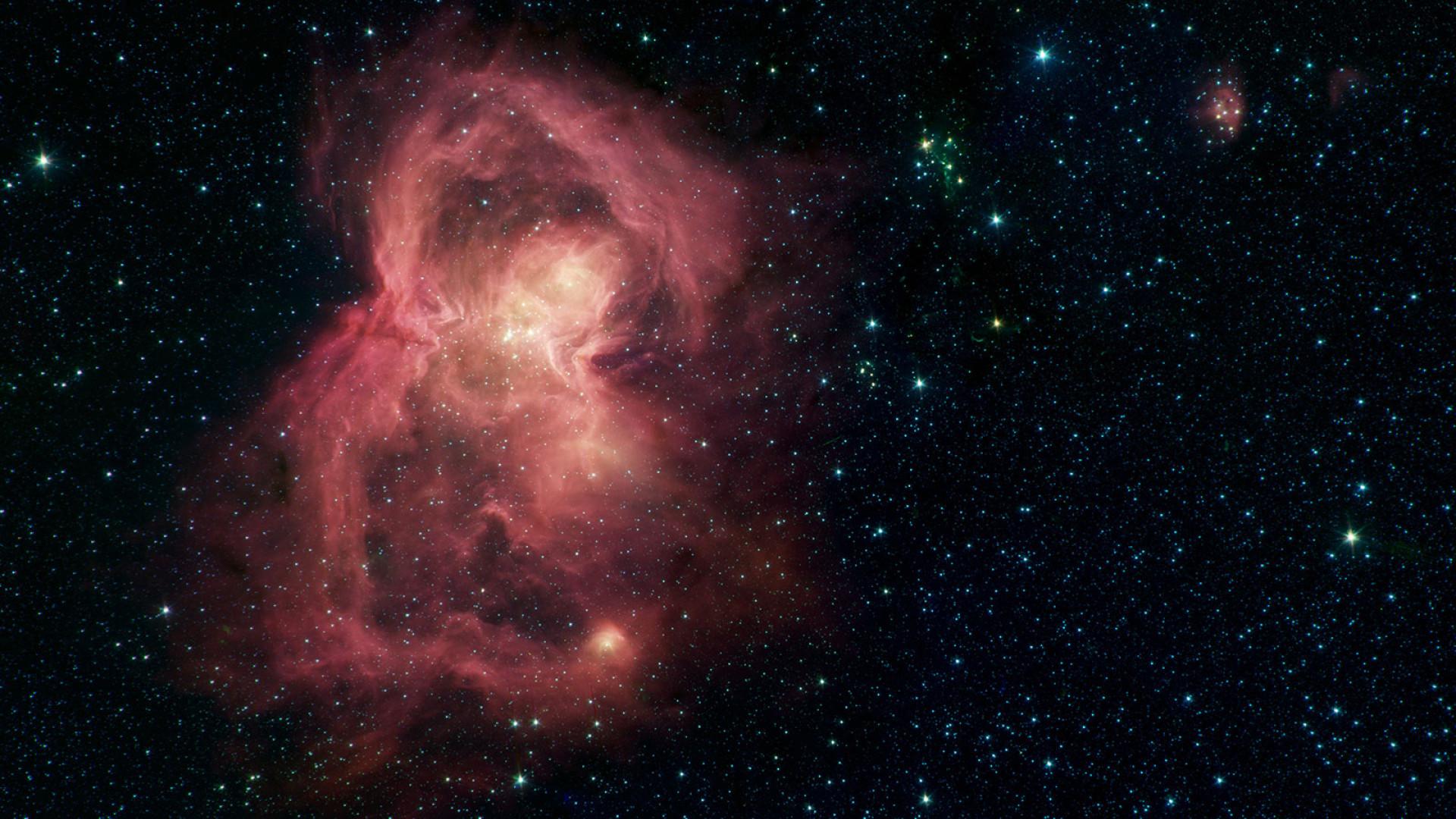 NASA compartilha imagem de 'borboleta espacial'