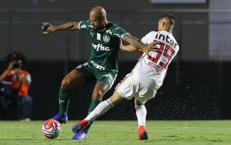 São Paulo e Palmeiras empatam no Morumbi pela semifinal do Paulistão