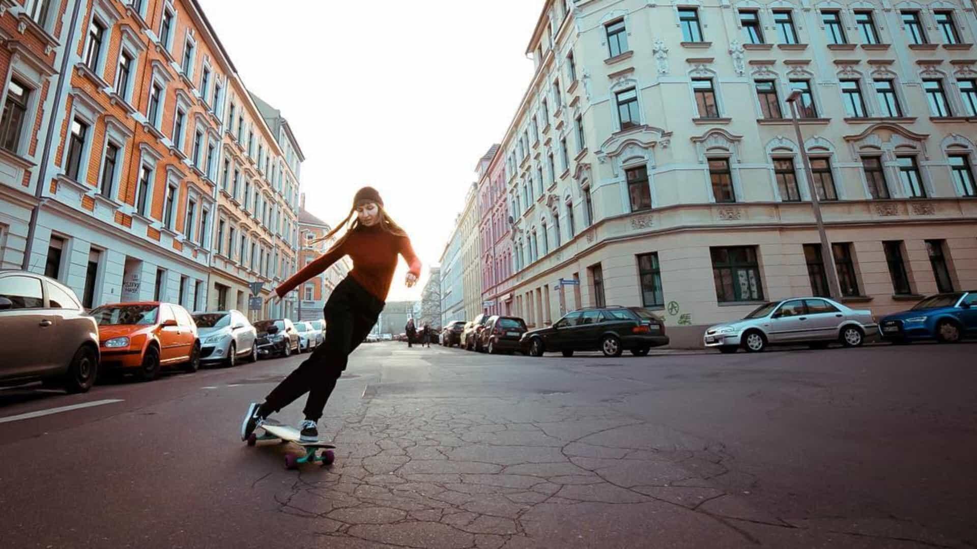 Longboard: conheça a mistura entre skate e dança