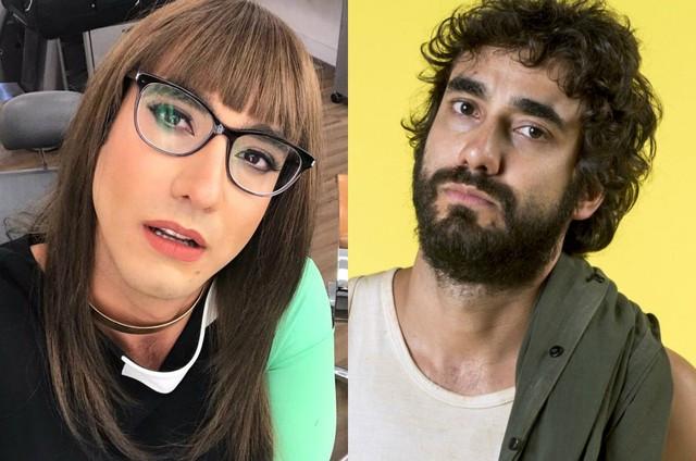 Gabriel Godoy se veste de mulher para novela 'Verão 90'