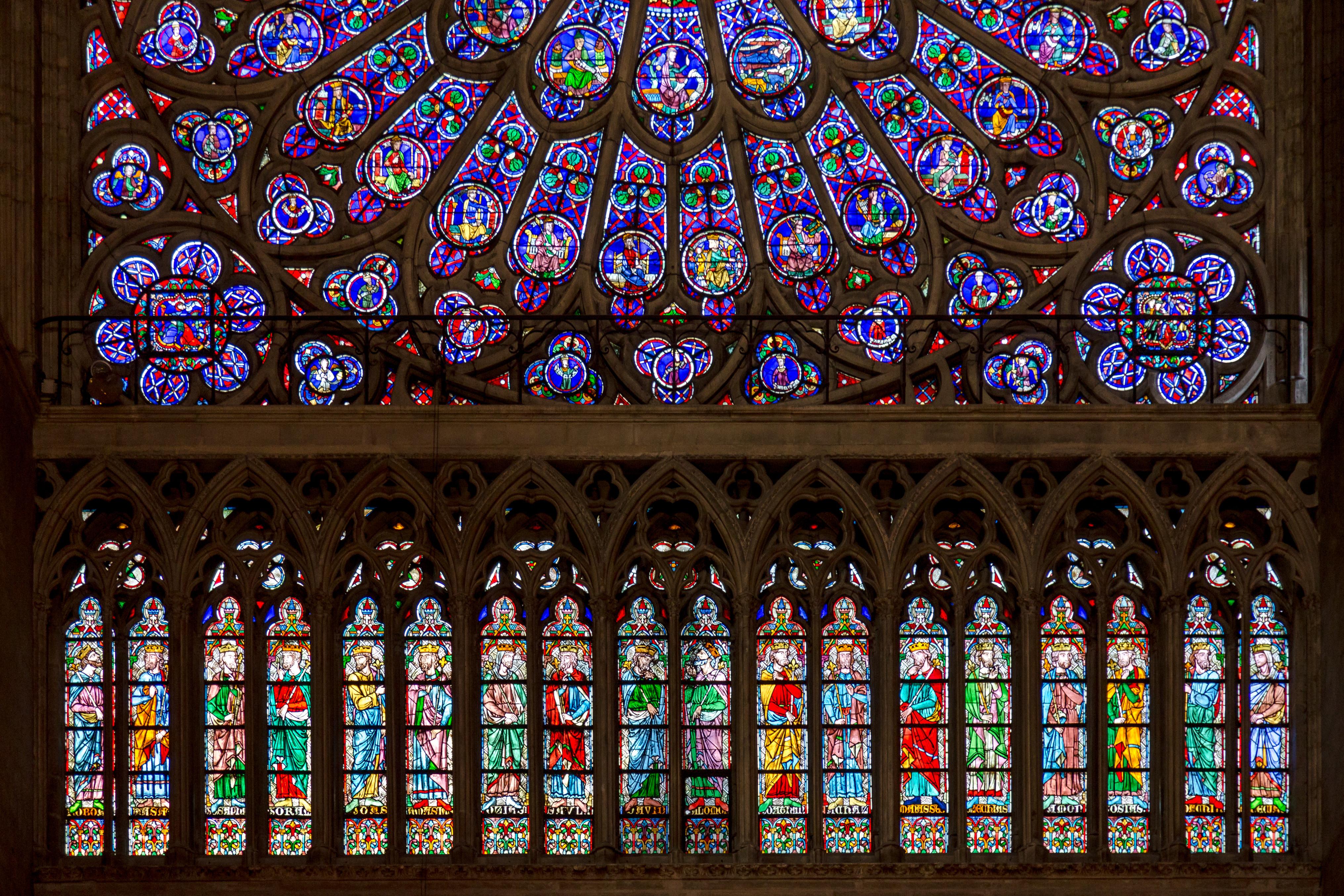 Antes do incêndio: a beleza da Catedral de Notre-Dame