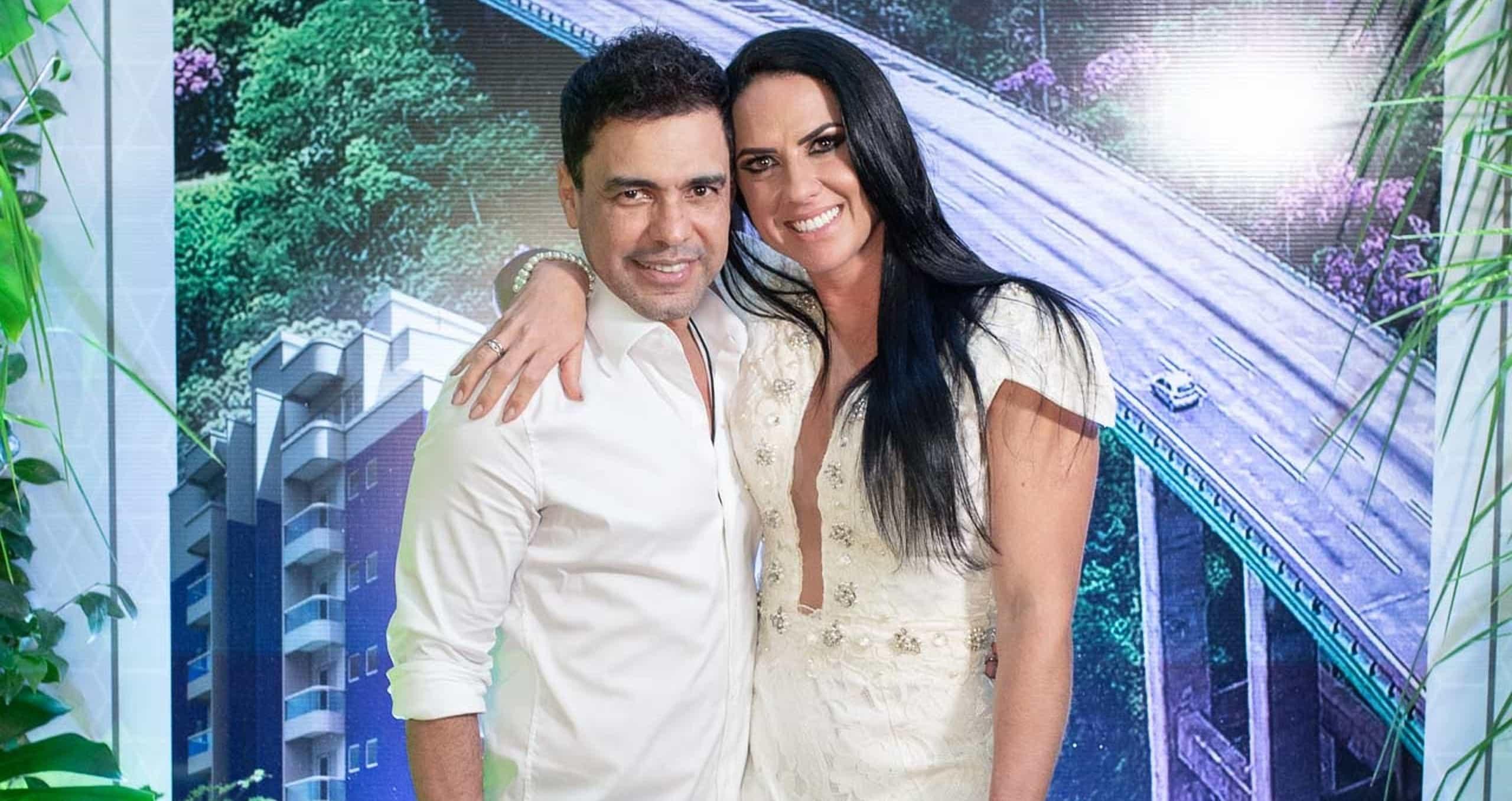 Zezé Di Camargo marca data de casamento com Graciele Lacerda