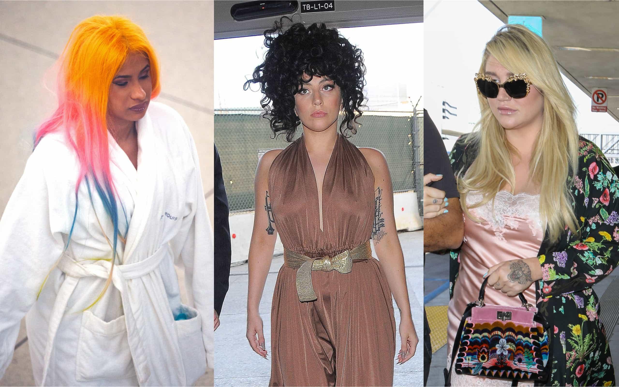 Os looks mais estranhos que os famosos usaram no aeroporto