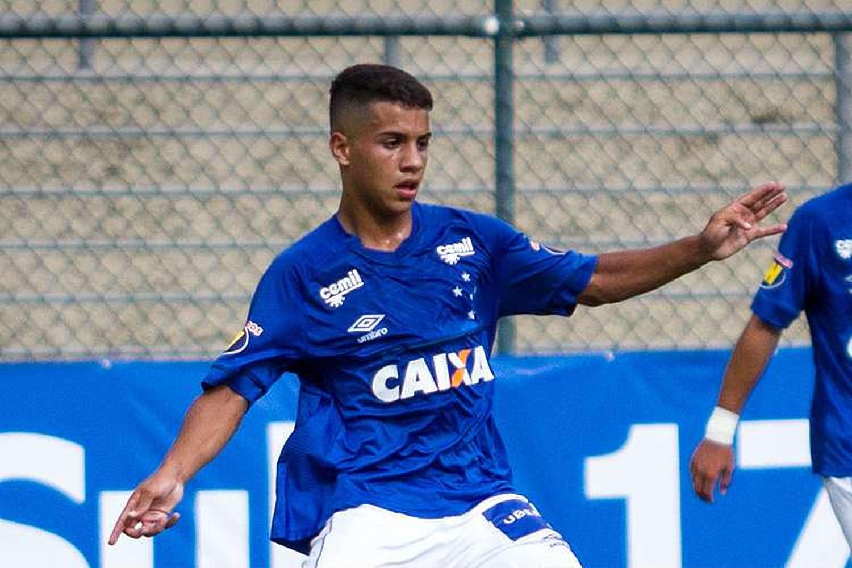 Cruzeiro empresta promessa do sub-17 ao Palmeiras