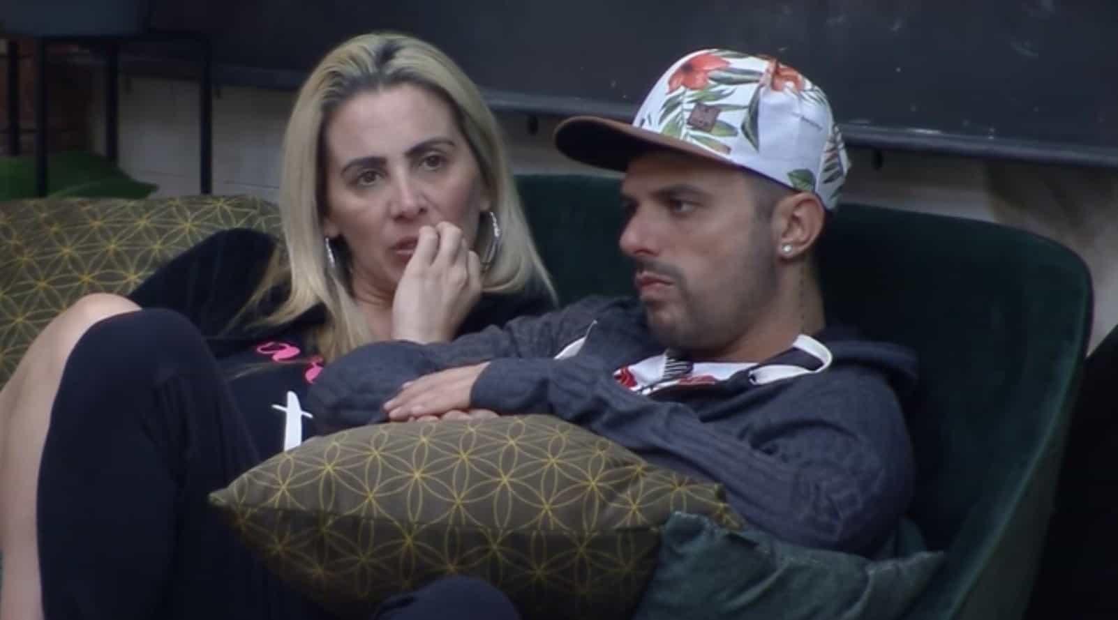 Faby Monarca e Enrico Mansur são eliminados do 'Power Couple Brasil'