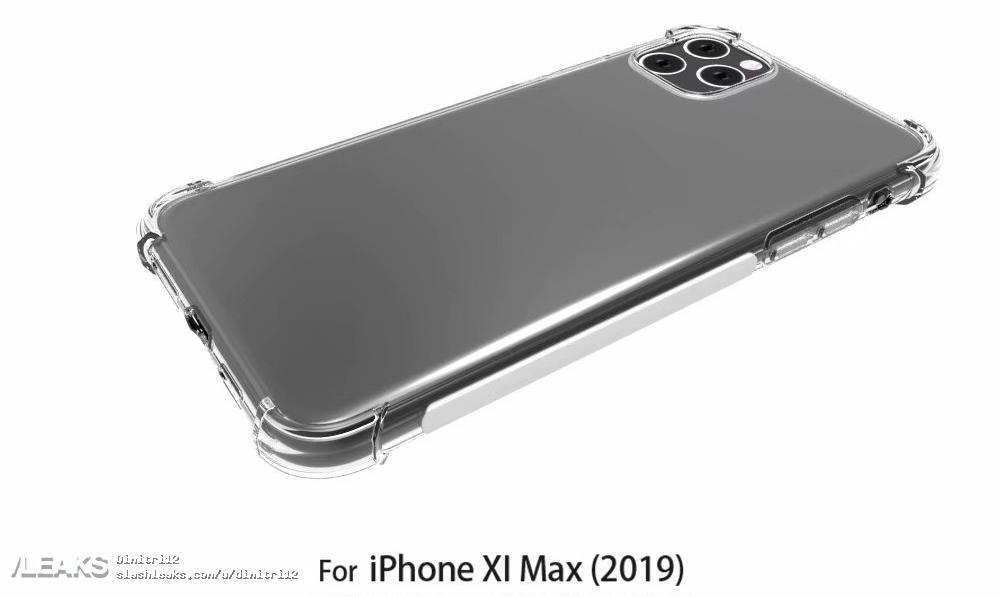 Imagens do novo iPhone mostram câmara tripla