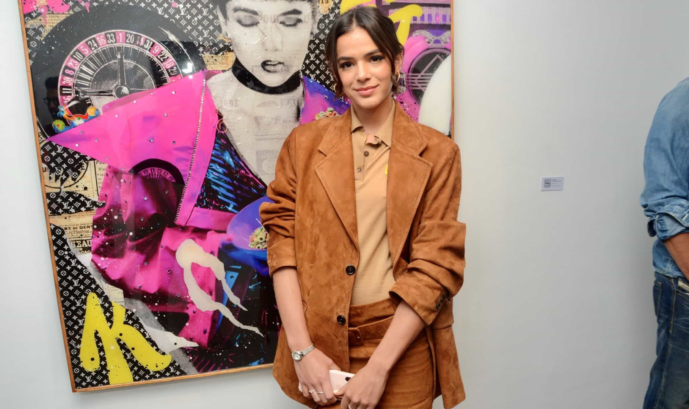 Bruna Marquezine se recusa a posar com Gian Luca Ewbank em exposição