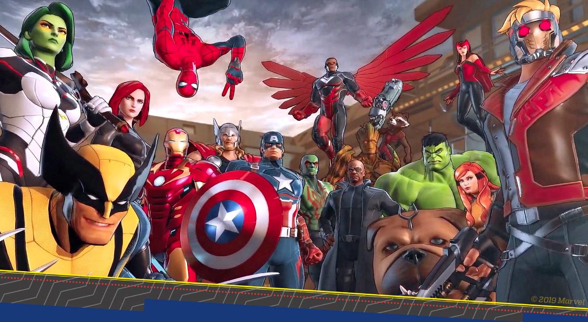 Nintendo Switch vai receber super-heróis da Marvel