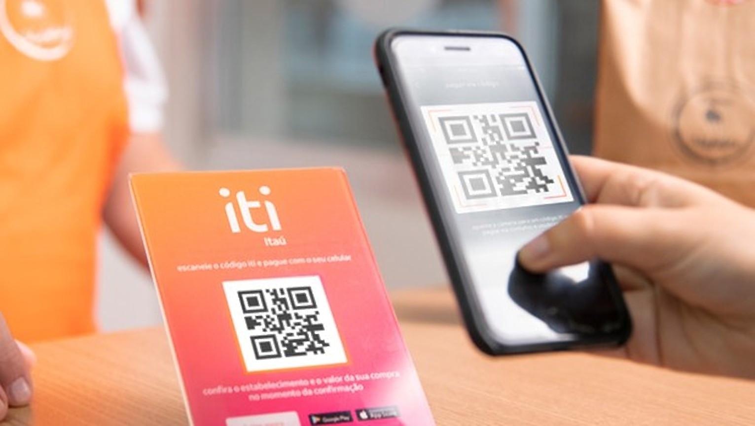Itaú anuncia plataforma de pagamento instantâneo via QR Code