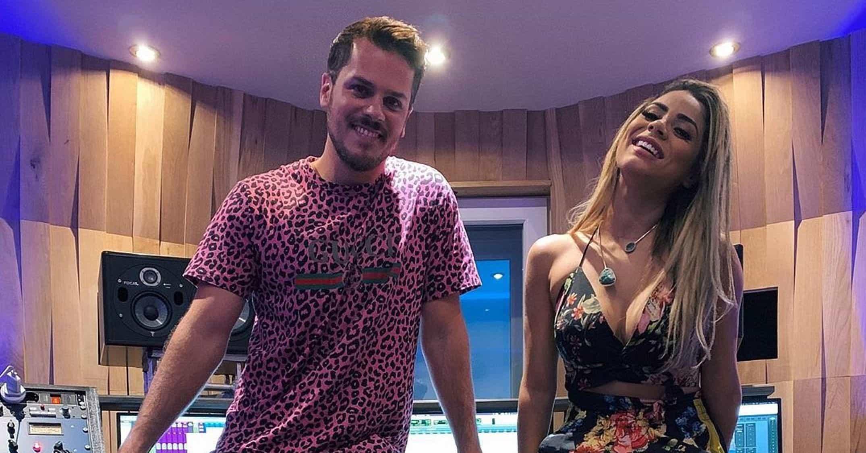Lexa anuncia parceria com cantor português Mickael Carreira