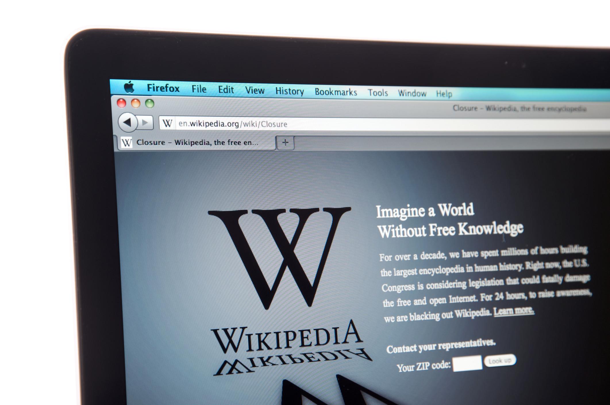 China bloqueou todas as versões do Wikipedia